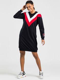 Značkové športové šaty granátové Sporty Outfits, Shirt Dress, T Shirt, Sports, Tops, Dresses, Style, Fashion, Sports Costumes