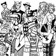 RAVE PARTY #ARTWORK #DESSIN #DRAWING #GRAPHISM #ILLUSTRATION #BW #ART #ALTERNATIF #DJ #FREEDOM #RAVE #FUN #MUSIC #ACIDHOUSE #1980 #XTC #DANCE #CLUBBING #TECHNO #PUNK #FASHION