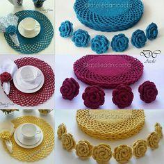 Pin by Luz María on Cocina Crochet Kitchen, Crochet Home, Love Crochet, Crochet Motif, Crochet Designs, Crochet Doilies, Crochet Baby, Knit Crochet, Crochet Patterns