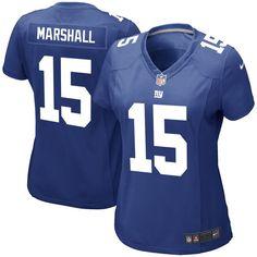 Brandon Marshall New York Giants Nike Women's Game Jersey - Royal