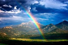 Rainbows in the sky! It is a beautiful life, yes? What do you love?