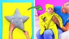 5 Min Crafts, 5 Minute Crafts Videos, Diy Crafts Hacks, Craft Videos, Backpack Decoration, Cute Kids Crafts, Diy Backpack, Baby Girl Toys, Diy For Kids