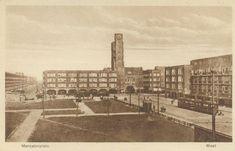 Mercatorplein omstreeks 1930 - via Geheugen van GVB tramlijn 7