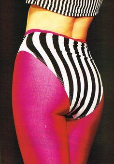 Swimsuit DOLLY Australia, 1985Photographer: Graham ShearerModel: Sonia Klein