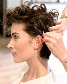 cool pixie cuts for curly hair rizadode pelo