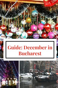 December in #Bucharest, Romania