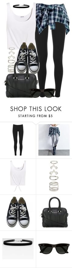 """Style #11026"" by vany-alvarado ❤ liked on Polyvore featuring Splendid, Baimomo, Forever 21, Converse, Givenchy and Ray-Ban"