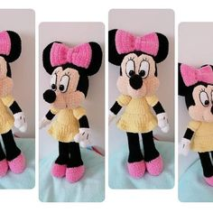 Minnie Mouse Crochet pattern Disney crochet pattern | Etsy