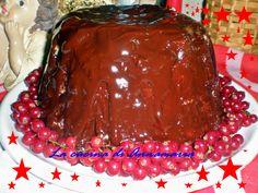 Zuccotto di Natale con ripieno di torrone, ricetta di Natale