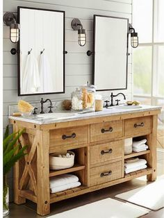 I love this bathroom vanity!