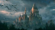 Akarlith castle, home of the lord of Akarlith House. Alastair, Amaris's grandfather, in this case.
