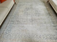 Rectangle Area, Long Runner Rugs, Oushak Rugs, Large Area Rugs, Natural Rug, Ancient Art, Cotton Silk, Hand Knotted Rugs