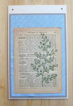 SALE Mixed Media Collage  Rewards of Services by aquarabbit, $20.00