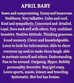 She's an Aries baby, she was born on April 1996 shes old. April Born Quotes, Baby Born Quotes, April Quotes Month Of, Aries Birthday, Birthday Wishes, Birthday Greetings, Happy Birthday, Positive Attitude, Positive Quotes