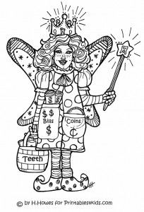 special needs children coloring | tooth-fairy-coloring-page-tooth ...