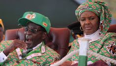 Grace Mugabe, positions herself to take power in Zimbabwe as frail husband fades New Africa, Africa News, South Africa, African Dictators, Al Capone, Evil Spirits, World Leaders, Zimbabwe, Current Events