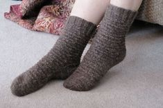 The Spicy Knitter: FO: Niblet Socks