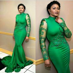 Elegant Aso Ebi Attire For Young Mothers And Single Ladies - WearitAfrica Dinner Outfit Classy, Dinner Outfits, Classy Dress, Classy Outfits, Chic Dress, Beautiful Evening Gowns, Stunning Dresses, Nice Dresses, Dresses Dresses