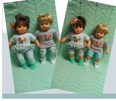 American Girl Bitty TWINS clothes Bitty Baby by TheDollyDama