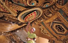 Enjoy this fabulous article that shares the story of the ceiling restoration at the Fabulous Fox Theatre!