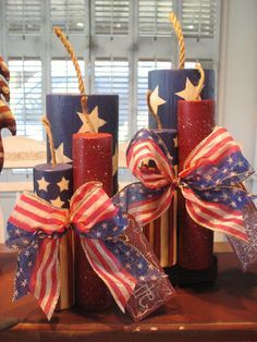 Fourth of July decorations are the best way to celebrate Patriotic day with your friends and family. Here are some easy July fourth decorations ideas. 4th July Crafts, Fourth Of July Decor, 4th Of July Decorations, 4th Of July Party, July 4th Wedding, Parties Decorations, Parties Food, Birthday Decorations, 4th Of July Wreath