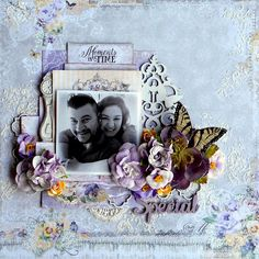 Layout: Moments In Time *DT Blue Fern Studios*