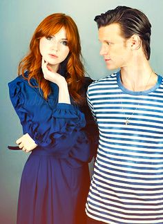 """Amy Pond"" is SO beautiful!!! So is the doctor of course :)"