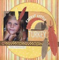 Thanksgiving layout by @Shaunte Wadley using Lifestyle Crafts dies. #thanksgiving