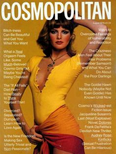 Rene Russo covers Cosmopolitan.