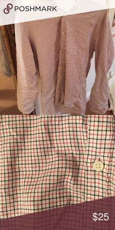 Mens jcrew button up (L) Jcrew slim fit, brushed twill button up, worn 3 times, like new! J. Crew Tops Button Down Shirts