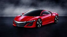Acura Nsx Red Front View Wallpaper Hd Photos Uz  V
