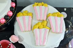 Ready To Pop Baby Shower Pink Rice Krispie POPcorn