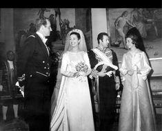 El matrimonio de Carmen Martinez Bordiú y Alfonso de Borbón