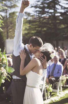 Gelukkige bruidegom :)