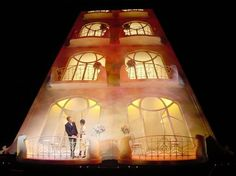 Private Lives. Albery Theatre, London. Richard Rodgers Theatre. Scenic design by Tim Hatley. 2001/2002