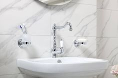 Rektifikovaný obklad Calacatta 30x90 cm | Obklady a dlažba, série | SIKO KOUPELNY Calacatta, Bathroom Ideas, Sink, Design, Home Decor, Sink Tops, Vessel Sink, Decoration Home, Room Decor