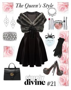 """""""classy/elegant/sexy"""" by queenchelleisboomkoo on Polyvore featuring DKNY, Prada, Gucci, Stephen Webster, Mark Broumand, Christian Dior, M&Co and Kate Spade"""