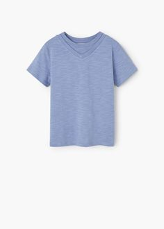 Cotton t-shirt | MANGO KIDS