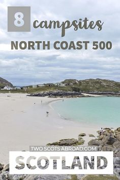 8 North Coast 500 Campsites not to be Missed This Year Scotland's North Coast 500 camping and motorhome itinerary - Europe's answer to route Pin to your Scotland board for later. Camping Scotland, Camping Europe, Scotland Travel Guide, Scotland Road Trip, Road Trip Europe, Europe Travel Guide, Camping Car, Visiting Scotland, Europe Budget