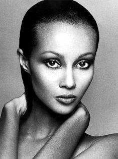 Somali born supermodel and wife of David Bowie,Iman Top Models, Black Models, Female Models, Women Models, Francesco Scavullo, Somali, Fashion News, Fashion Models, Fashion Beauty