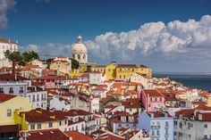 Above the roofs of Lisbon #Lisbon #Portugal #travel
