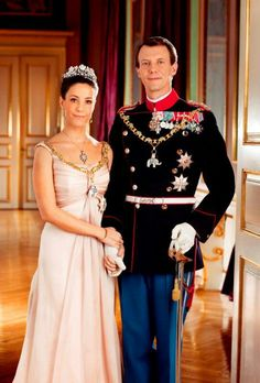 Prince Joachim of Denmark and Princess Marie