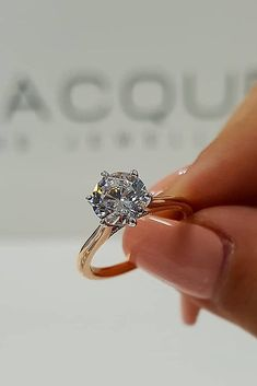 33 Rose Gold Engagement Rings That Melt Your Heart ❤️ rose gold engagement rings simple solitaire diamond round cut ❤️ See more: Gold Simple Engagement Ring, Engagement Solitaire, Top Engagement Rings, Wedding Rings Simple, Wedding Rings Solitaire, Solitaire Diamond, Simple Solitaire, Diamond Rings, Simple Gold Rings