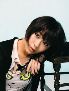 Utada Hikaru - Love her music, especially her earlier r songs