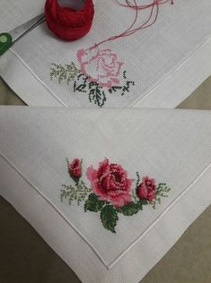 Yasemin Cebbar Tuna's #456 media analytics. Cross Stitch Rose, Cross Stitch Borders, Cross Stitch Designs, Cross Stitch Patterns, Embroidery Fashion, Crewel Embroidery, Cross Stitch Embroidery, Embroidery Designs, Sewing Patterns