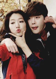 Park Shin Hye & Lee Jong Suk