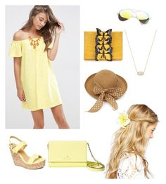 """Flowers"" by briezy-2 ❤ liked on Polyvore featuring ASOS, Charles Albert, Kate Spade, Nancy Gonzalez and Kendra Scott"