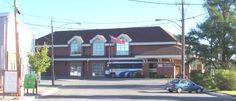 ENGLEHART , Ontario , Canada - ONR train-bus terminal