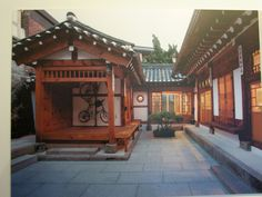 traditional korean homes   Hanok is the ancetral house filled with their tradition and wisdom!