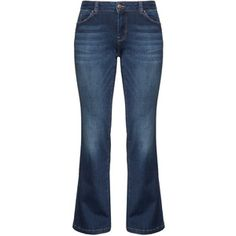 Zizzi Blue Plus Size Sanna bootcut jeans